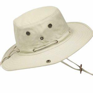 Misty Mountain Bosun Cotton Canvas Off White Hat